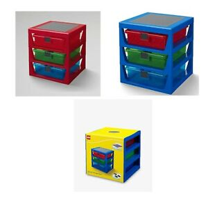 Lego-3-Drawer-Storage-Rack-Container-Includes-32-x-32-Pin-Base-Plate-Set-4095