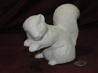 Ceramic Bisque Skunk With Paws Up Ready To Paint U Paint Wildlife Animal
