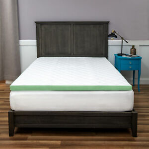 SensorPEDIC 3-Inch Ultimate Cooling Quilted Memory Foam Bed Topper