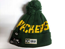 Green Bay Packers Knit Hat Era 2019 Crucial Catch On Field Sideline Cap For Sale Online Ebay