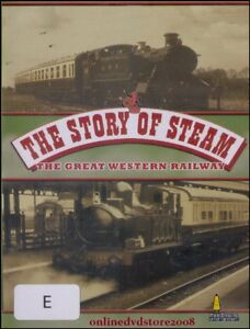 The-STORY-of-STEAM-Great-Western-Railway-Classic-LOCOMOTIVES-Trains-DVD-NEW