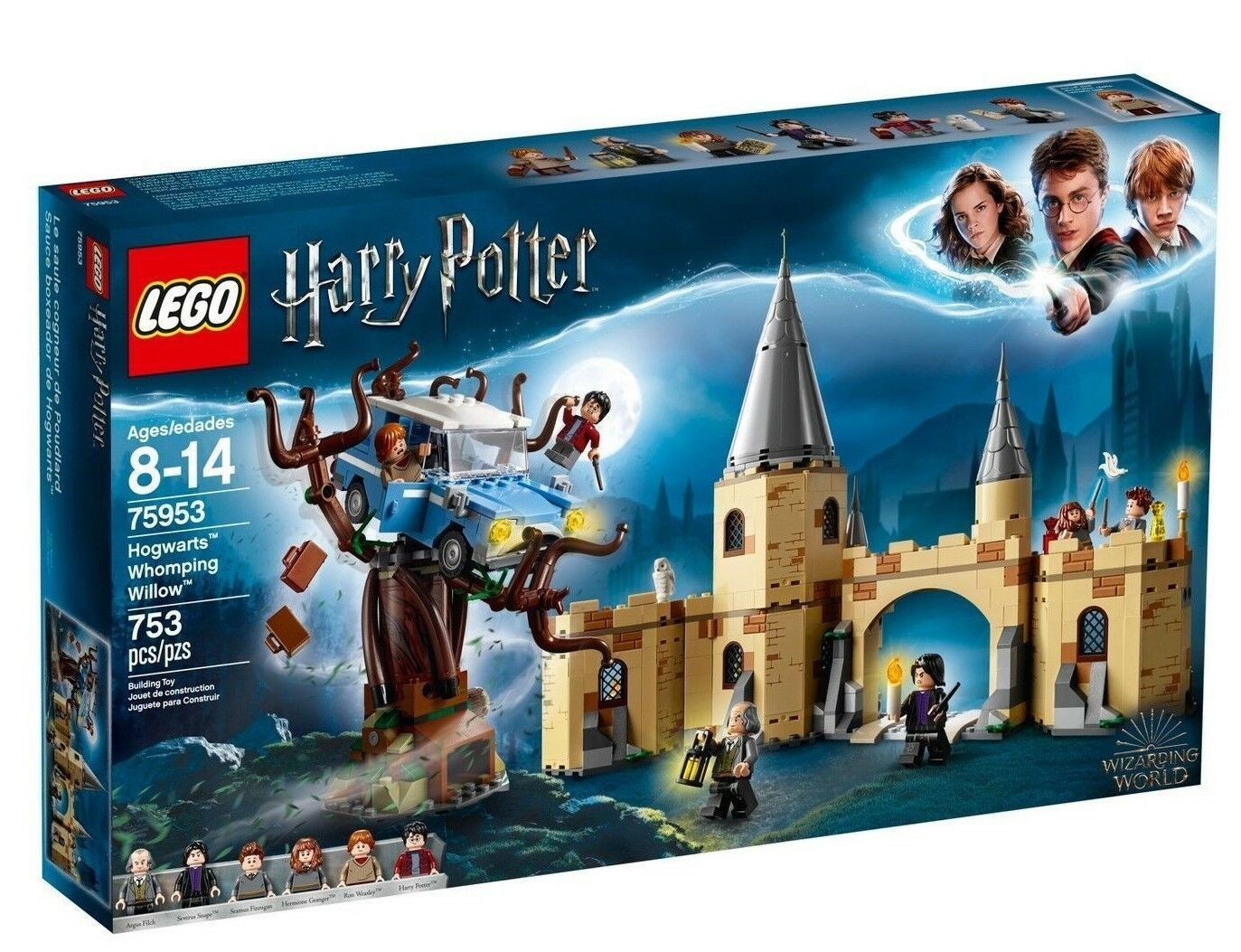 2018 LEGO-HARRY POTTER WIZARDING WORLD HOGWARTS WHOMPING  WILLOW 753 PC IN He  per il commercio all'ingrosso
