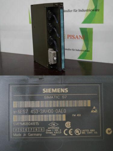 Siemens Simatic S7  6ES7 453-3AH00-0AE0