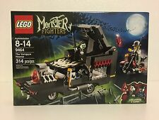 Brand New Retired LEGO Monster Fighters 9464 The Vampyre Hearse
