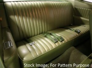 Details About 1969 Chevrolet Impala Ss Pontiac Parisienne Coupe Rear Seat Cover