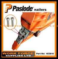 2xStainless Steel Shear Block Screws - Part No. 403816-For PASLODE IM350+/IM350
