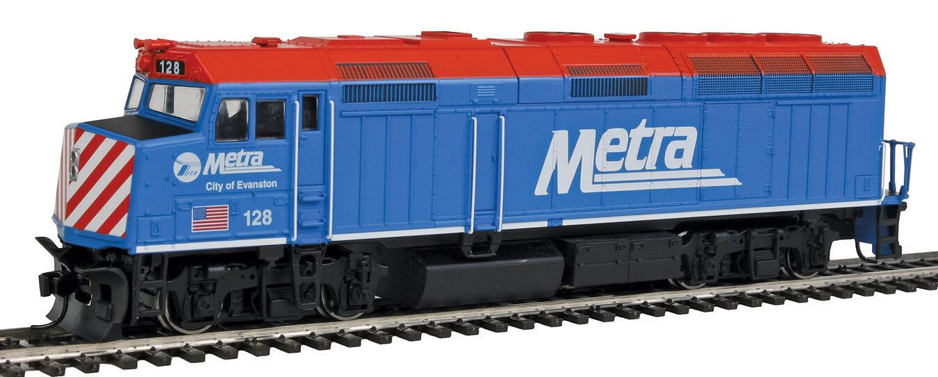 Scala H0 - Locomotiva Diesel EMD F40PH Metra 9459 Neu