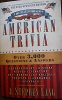 The Big Book Of American Trivia: Over 3,000 Questions & Answers By Lang