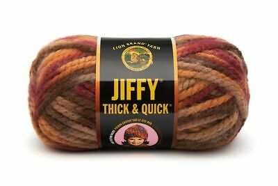 Lion Brand Jiffy Thick and Quick Yarn 430-212 Adirondacks 1 Ball of Yarn Skein