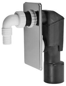 up sifon dn 40 50 unterputz ger te siphon syphon abflu waschmaschine ebay. Black Bedroom Furniture Sets. Home Design Ideas