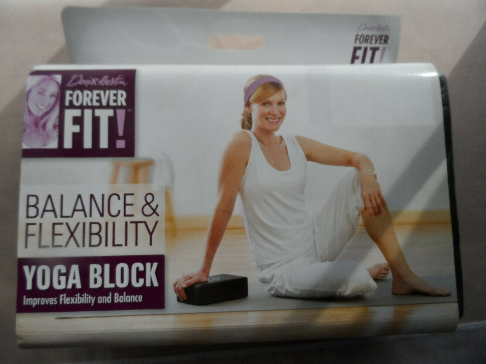 Denise Austin FOREVER FIT! Yoga Block 3″x 6″x 9″ EVA FOAM *NEW*