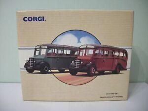 Corgi-97078-1-50-Scale-Bedford-OB-Diecast-Set-From-Corkhills-to-Kasteel-NEW