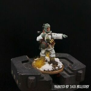 PRO PAINTED 28mm BOLT ACTION SOTTUFFICIALE tedesco (Uniforme Invernale) Ww2 WARLORD GAMES