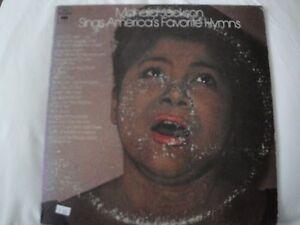MAHALIA-JACKSON-SINGS-AMERICA-039-S-FAVORITE-HYMNS-DOUBLE-VINYL-LPS-ROCK-OF-AGES-EX