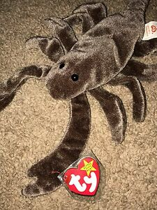 6ed29114f0e Image is loading TY-Beanie-Baby-STINGER-The-Scorpion-Retired-tag-