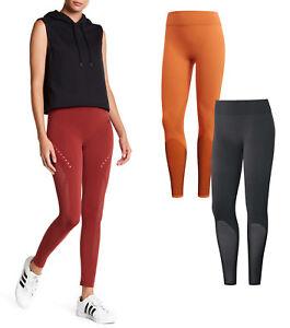 pagar Lo dudo ladrar  Women Adidas Warp Knit Tight Adidas Leggings Yoga Apparel NEW | eBay