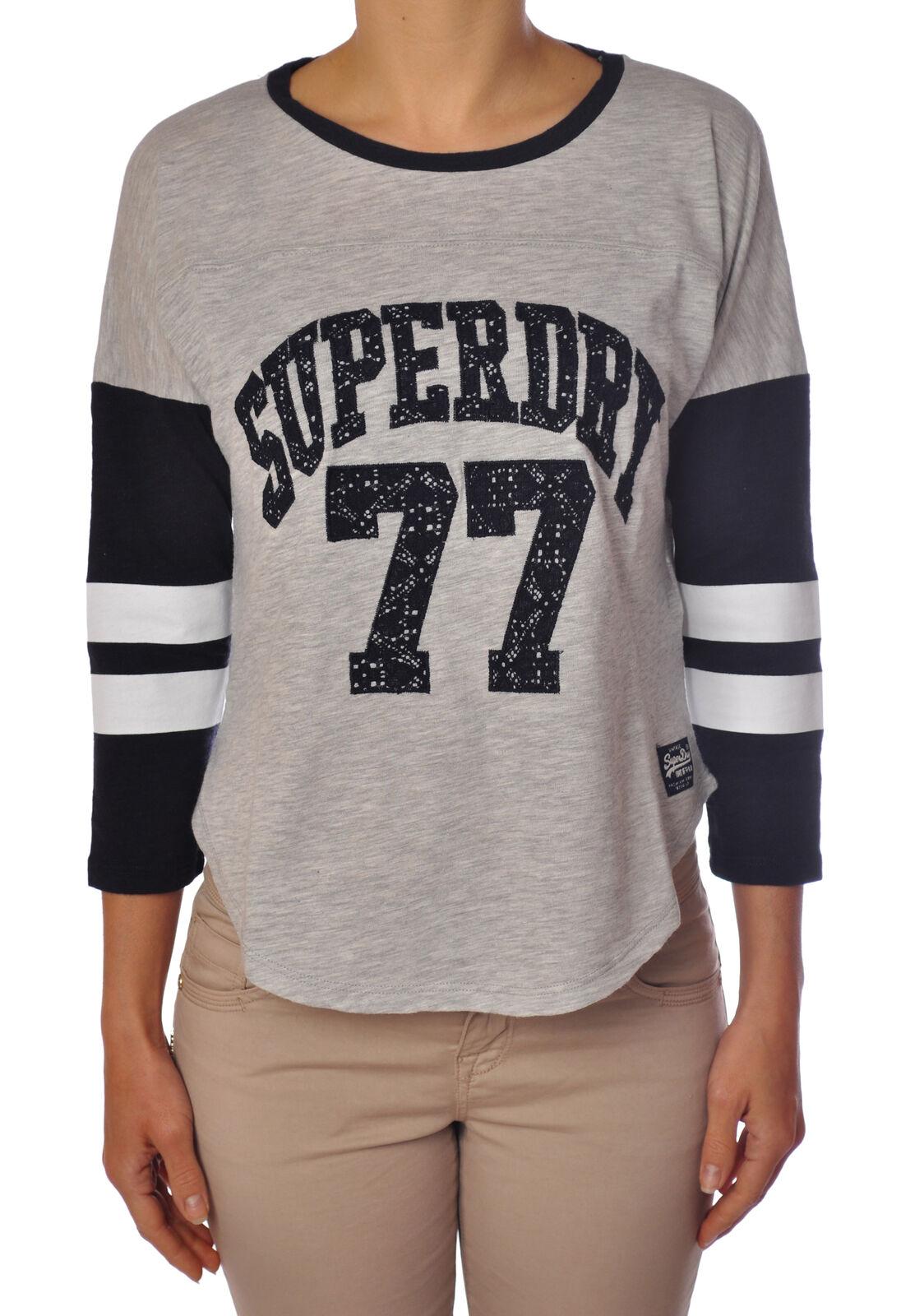 Superdry  -  T - Female - grau - 1985613A185948