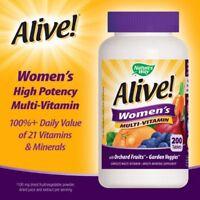 Alive Women's Multi-vitamin, 200 Tablets