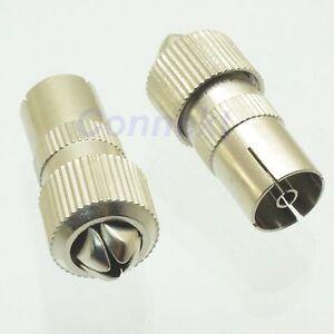 5pcs-IEC-PAL-DVB-T-TV-9-5mm-female-clamp-RG6-cable-RF-connector-Zinc-Alloy
