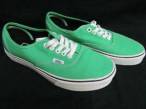 New Authentic Vans Classic Solid Island Green Men s 9 -- Women s ... ee64956e1