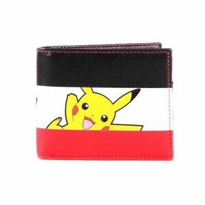 Pokemon-Pikachu-Bi-Fold-raya-cartera-regalo-de-nintendo