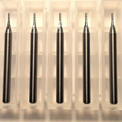 """5//64/"""" Dia x 1//4/"""" Cut 4 Flute Ball Carbide End Mill Made in the USA 10-Pack A16"""