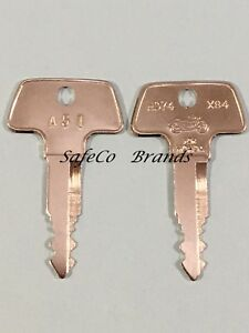 Honda Motorcycle Key Cut to Your Code Number From A00 to A99 /& From B00 to B99 n