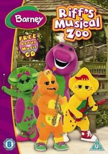 BARNEY-RIFF-039-S-MUSICAL-ZOO-DVD-Movie-Musical-Singing-Dancing-UK-New-Sealed-R2