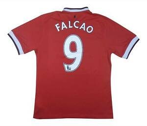 Manchester United 2014-15 Authentic Home Shirt Falcao #9 (OTTIMO) M