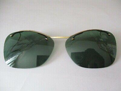 Bello Sur-lunettes De Soleil Verres Or Plaque France Vintage Sapore Puro E Delicato