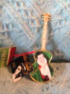NOS-CRACKER-BARREL-CHRISTMAS-MINGLE-amp-JINGLE-KURT-ADLER-ELVIS-GUITAR-ORNAMENT