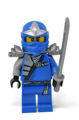 Lego Ninago Jay ZX with Armor Blue Ninja Minifigure 9445 9449 9450 9553 njo047