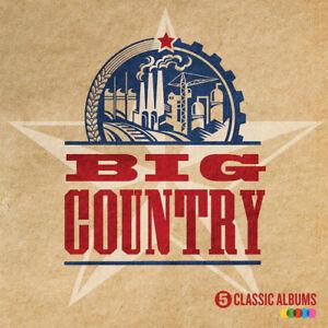 Big-Country-5-Classic-Albums-CD-Box-Set-5-discs-2016-NEW-Amazing-Value