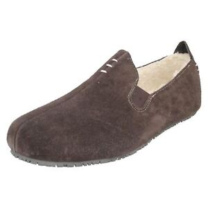 5198aafd3228 Image is loading MENS-CLARKS-SLIP-ON-LEATHER-SLIPPERS-KITE-FALCON