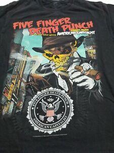 Five Finger Death Punch,American capitalist,men/'s,long sleeve,t-shirt,100/%cotton