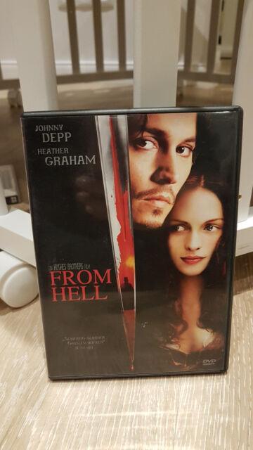 From Hell - Special Edition DVD Weihnachtsgeschenk Horror Johnny Depp