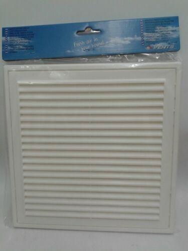 vent Louvre couleur blanche MV 250//150 boîte de 15