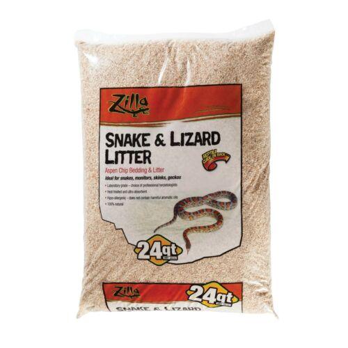 Zilla Snake and Lizard Litter Standard Packaging 24-Quart