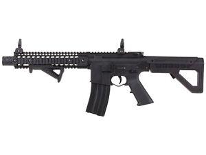 Crosman DPMS SBR Full Auto Co2 Air Rifle 177 Caliber BB - Black