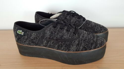 4 amp; Rene Lacoste Black Eu Uk Shoes Ladies Platform Grey 37 6qwqP8Ux