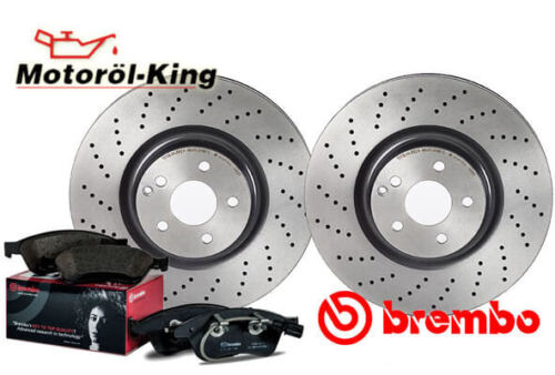 BREMBO Bremsenset gelocht  AUDI A4 Vorne 320MM 8EC, B7 8ED, B7