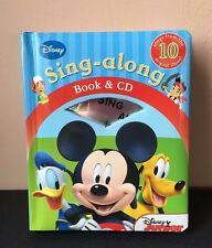Disney Junior/Mickey Mouse Sing-Along Book & CD *VGC*