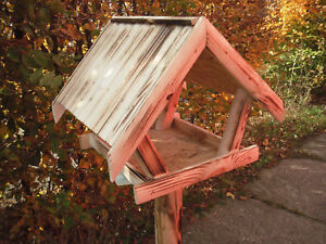 futterhaus v gel vogelhaus winter gro vogelfutterhaus amsel meise natur nr 27 ebay. Black Bedroom Furniture Sets. Home Design Ideas