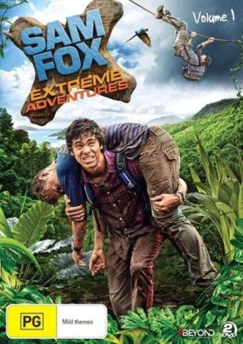 1 of 1 - Sam Fox -Extreme Adventures :Vol 1 (DVD, 2014, 2-Disc Set)-REGION 4-free postage