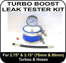 "TURBO BOOST LEAK TESTER Fits 2.75"" & 3.15"" (70 & 80mm) Turbos Pipes Hose EGR NOS"