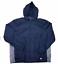 Athletic Works Hommes Shell à capuche légère hydrofuge Zip Complet Maille Trek Veste