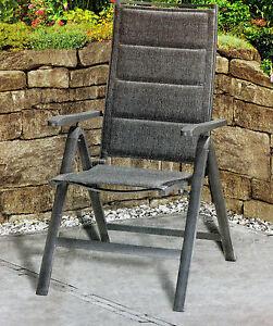 aluminium klappsessel alu klappsessel bis 150 kg belastbar klappstuhl neu ebay. Black Bedroom Furniture Sets. Home Design Ideas