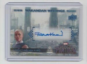 Marvel-Black-Panther-Autograph-Trading-Card-WW-YO-Florence-Kasumba-as-Ayo-A