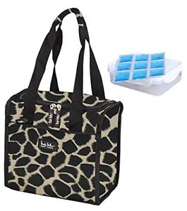 Image Is Loading Nicole Miller 11 Insulated Lunch Box Portable Cooler