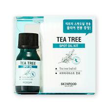 [SKINFOOD] Tea Tree Spot Oil Kit - 1pack (Oil 10ml + Cotton Swab 50pcs)